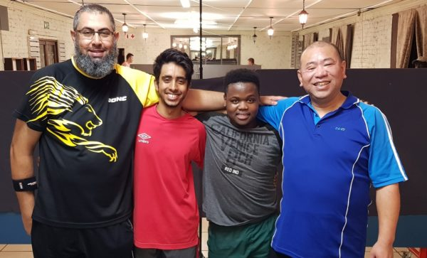In the News – Local Table Tennis Stars Shine in Off-Season Series